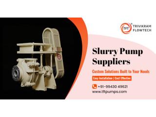 Slurry Pump Suppliers in India - TFTpumps