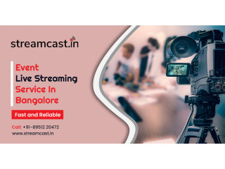 Live Streaming Bangalore - Video Streaming - Streamcast