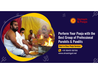 Pooja Services From Shastrigal To Solve All Life Issues - Book Now